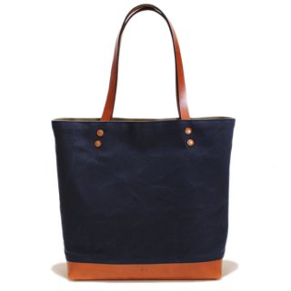 SOUTHERN FIELD INDUSTRIES  SF TOTE - NAVY x TAN