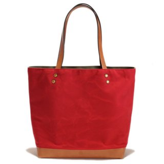 SOUTHERN FIELD INDUSTRIES  SF TOTE - RED x TAN