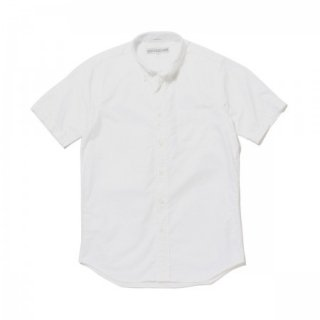 <img class='new_mark_img1' src='//img.shop-pro.jp/img/new/icons21.gif' style='border:none;display:inline;margin:0px;padding:0px;width:auto;' />INDIVIDUALIZED SHIRTS Standard Fit Short Sleeve Cambridge Oxford MIDDLE BAND BD WHITE