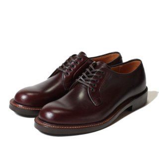 <img class='new_mark_img1' src='https://img.shop-pro.jp/img/new/icons47.gif' style='border:none;display:inline;margin:0px;padding:0px;width:auto;' />WHEEL ROBE PLAIN TOE BLUCHER OX / Burgundy (15066)