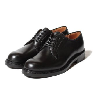 <img class='new_mark_img1' src='https://img.shop-pro.jp/img/new/icons14.gif' style='border:none;display:inline;margin:0px;padding:0px;width:auto;' />WHEEL ROBE - PLAIN TOE BLUCHER OX / Black (15066)