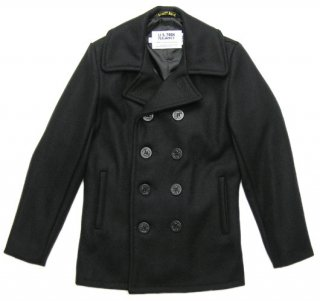 <img class='new_mark_img1' src='//img.shop-pro.jp/img/new/icons14.gif' style='border:none;display:inline;margin:0px;padding:0px;width:auto;' />Schott 753US PEA COAT 24oz. NAVY