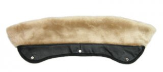 <img class='new_mark_img1' src='https://img.shop-pro.jp/img/new/icons47.gif' style='border:none;display:inline;margin:0px;padding:0px;width:auto;' />Schott 618M Faux Fur Collar Attachment NATURAL