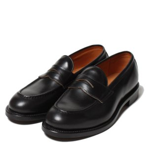 WHEEL ROBE HEAVY STITCHING LOAFER / BLACK (15079)