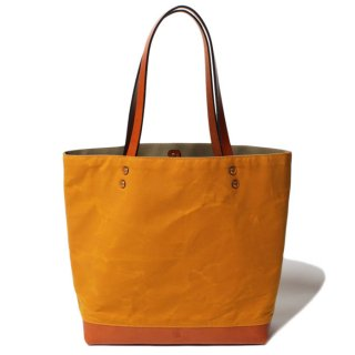 SOUTHERN FIELD INDUSTRIES  SF TOTE - MUSTARD x TAN