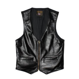 <img class='new_mark_img1' src='https://img.shop-pro.jp/img/new/icons14.gif' style='border:none;display:inline;margin:0px;padding:0px;width:auto;' />VANSON VZ LEATHER VEST BLACK