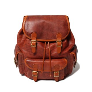 <img class='new_mark_img1' src='https://img.shop-pro.jp/img/new/icons20.gif' style='border:none;display:inline;margin:0px;padding:0px;width:auto;' />SLOW Vintage Horse Ruck Sack Red Brown