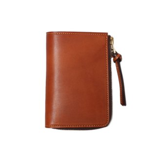<img class='new_mark_img1' src='https://img.shop-pro.jp/img/new/icons21.gif' style='border:none;display:inline;margin:0px;padding:0px;width:auto;' /> SLOW DOUBLE OIL L-ZIP SHORT WALLET RED BROWN (333S47E)