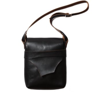 Fernand Leather  Kelly Pouch Large Black