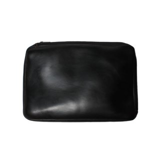 Fernand Leather Zip Pouch (Clutch Bag) Large