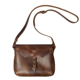 Fernand Leather Strap Pouch Medium - Natural