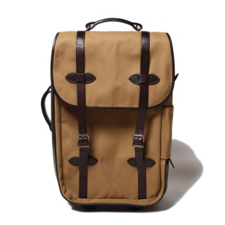 <img class='new_mark_img1' src='https://img.shop-pro.jp/img/new/icons14.gif' style='border:none;display:inline;margin:0px;padding:0px;width:auto;' />FILSON Rugged Twill Rolling Carry-On Bag MEDIUM TAN #70323