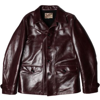 <img class='new_mark_img1' src='https://img.shop-pro.jp/img/new/icons14.gif' style='border:none;display:inline;margin:0px;padding:0px;width:auto;' />Y'2 LEATHER ANILINE HORSE SPORTS JACKET CHERRY
