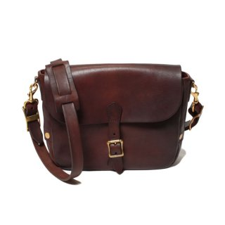 <img class='new_mark_img1' src='https://img.shop-pro.jp/img/new/icons47.gif' style='border:none;display:inline;margin:0px;padding:0px;width:auto;' />VASCO LEATHER POSTMAN MINI SHOULDER BAG (TYPE-1) BROWN