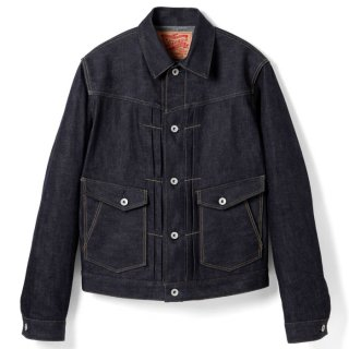 <img class='new_mark_img1' src='https://img.shop-pro.jp/img/new/icons14.gif' style='border:none;display:inline;margin:0px;padding:0px;width:auto;' />STEVENSON OVERALL CO. FRONT PLEATED WORK JACKET - Rancher (202) RIGID