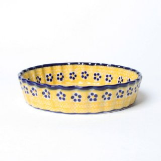 <img class='new_mark_img1' src='https://img.shop-pro.jp/img/new/icons14.gif' style='border:none;display:inline;margin:0px;padding:0px;width:auto;' /> Polish Pottery  Oven Dish M