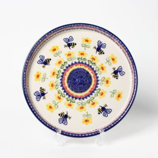 <img class='new_mark_img1' src='https://img.shop-pro.jp/img/new/icons14.gif' style='border:none;display:inline;margin:0px;padding:0px;width:auto;' />Polish Pottery Manufaktura Pizza Plate L