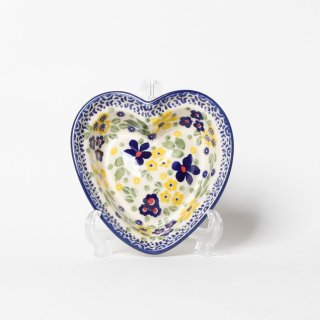 <img class='new_mark_img1' src='https://img.shop-pro.jp/img/new/icons14.gif' style='border:none;display:inline;margin:0px;padding:0px;width:auto;' />Polish Pottery Heart-shapad Bowl