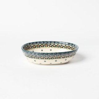 Polish Pottery Ceramika TYRCZ Oven Dish Oval