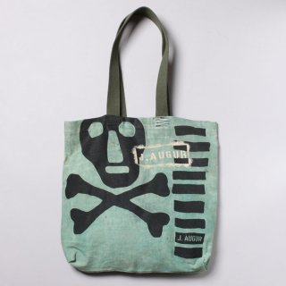 <img class='new_mark_img1' src='https://img.shop-pro.jp/img/new/icons14.gif' style='border:none;display:inline;margin:0px;padding:0px;width:auto;' />J.Augur Design - Skull Tote With Vintage Military Canvas