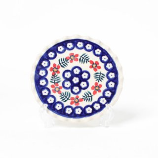<img class='new_mark_img1' src='https://img.shop-pro.jp/img/new/icons14.gif' style='border:none;display:inline;margin:0px;padding:0px;width:auto;' />Polish Pottery Manufaktura Wavy Plate