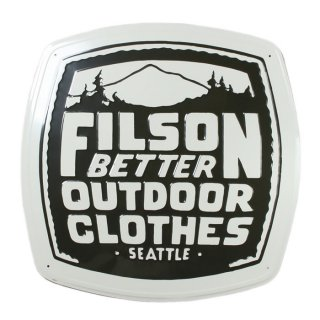 <img class='new_mark_img1' src='https://img.shop-pro.jp/img/new/icons47.gif' style='border:none;display:inline;margin:0px;padding:0px;width:auto;' />FILSON TIN SIGN - 2PCS 1SET