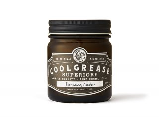 <img class='new_mark_img1' src='https://img.shop-pro.jp/img/new/icons14.gif' style='border:none;display:inline;margin:0px;padding:0px;width:auto;' /> COOL GREASE SUPERIORE - POMADE - CEDAR (220g)