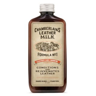 <img class='new_mark_img1' src='https://img.shop-pro.jp/img/new/icons14.gif' style='border:none;display:inline;margin:0px;padding:0px;width:auto;' />CHAMBERLAIN'S LEATHER MILK - No.1 LEATHER CARE LINIMENT