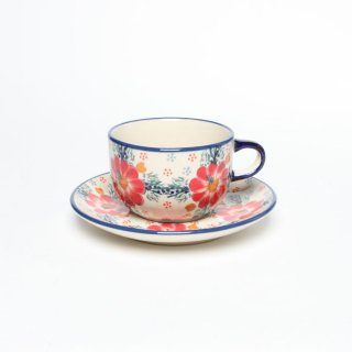 <img class='new_mark_img1' src='https://img.shop-pro.jp/img/new/icons60.gif' style='border:none;display:inline;margin:0px;padding:0px;width:auto;' />Manufaktura Cup and Saucer