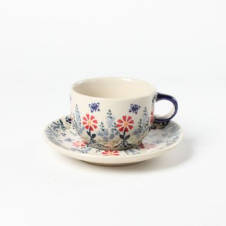 <img class='new_mark_img1' src='https://img.shop-pro.jp/img/new/icons14.gif' style='border:none;display:inline;margin:0px;padding:0px;width:auto;' />Polish Pottery Manufaktura Cup and Saucer