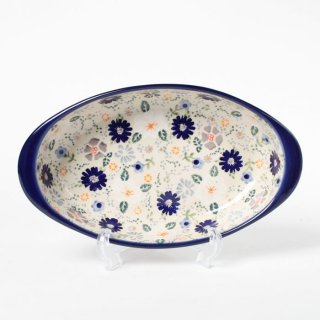 <img class='new_mark_img1' src='https://img.shop-pro.jp/img/new/icons14.gif' style='border:none;display:inline;margin:0px;padding:0px;width:auto;' />Polish Pottery Manufaktura Oval Gratin