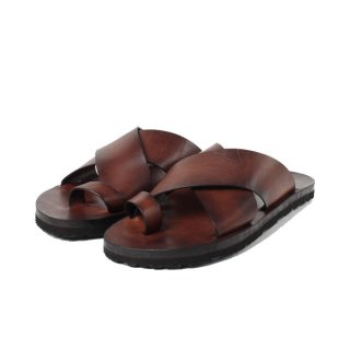 <img class='new_mark_img1' src='https://img.shop-pro.jp/img/new/icons61.gif' style='border:none;display:inline;margin:0px;padding:0px;width:auto;' />vasco VS-102 LEATHER NELSON SANDAL BROWN