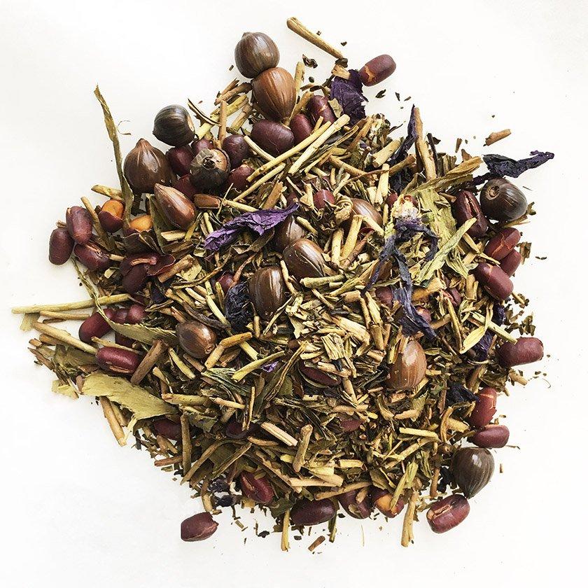 小豆とハトムギ香ばしハーブ茎ほうじ茶 20g《スープのようなごちそう茶》