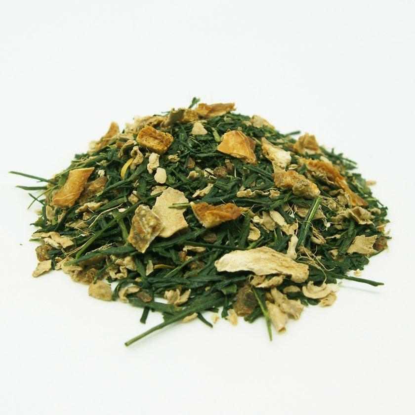 ゆず生姜煎茶 30g《スープのようなごちそう茶》