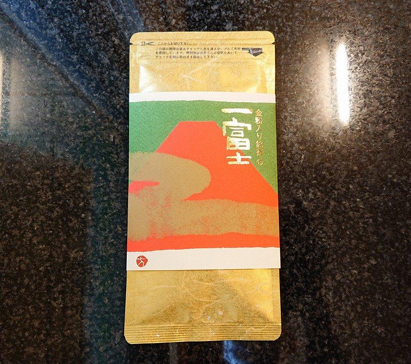 一富士(いちふじ)金粉入り煎茶50g