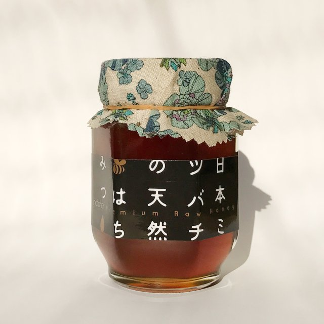 【2018年春採取・限定出荷】純度100%&非加熱 natoha 日本ミツバチの天然はちみつ 150g