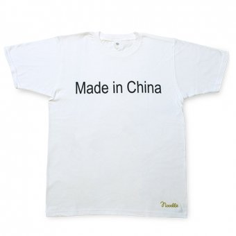 Noodle. /Novelty Series Made in China グラフィックTシャツ