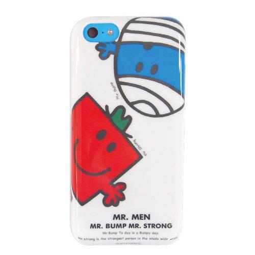MR.MEN iPhone5C対応ソフトジャケット(ホワイト) MML-40WH MM}>