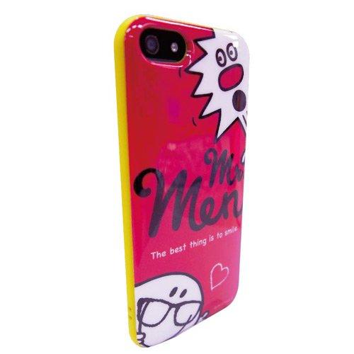 MR.MEN iPhone5/5s対応 ラウンドソフトジャケット(ピンク) MML-42B MM}>