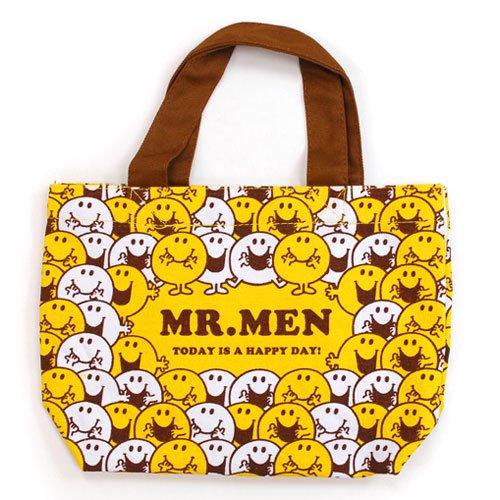 MR.MEN 【生産終了品】ミニトート(集合) MRM-MNT-SG MM