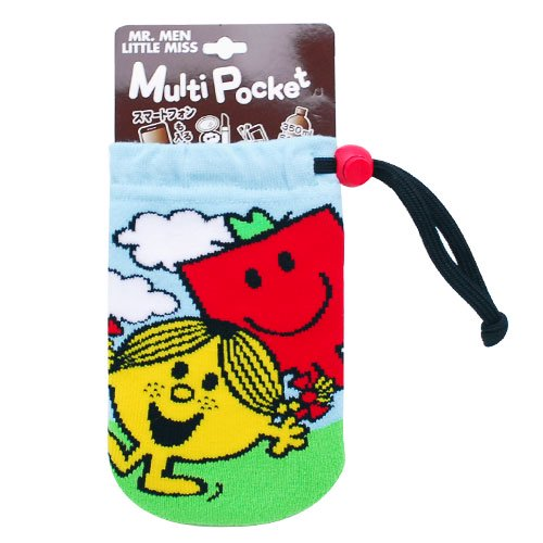 MR.MEN 【生産終了品】マルチポケット(Little Miss Sunshine&Mr.Strong) 062215-14 MM}>
