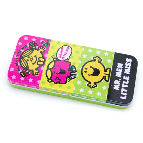 MR.MEN LITTLE MISS ミスターメン リトルミス 【生産終了品】缶ペンケース(カラフル) MMLM-011 MM