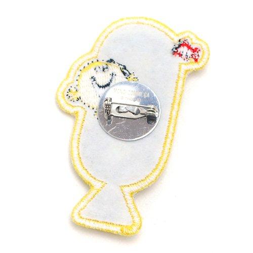 MR.MEN 【生産終了品】【MONO COMME CA コラボ】バッジ(Mr.Happy) 95-78LG09-01 MM