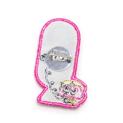 MR.MEN 【生産終了品】【MONO COMME CA コラボ】バッジ(Little Miss Chatterbox) 95-78LG09-06 MM