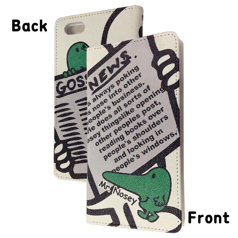 MR.MEN iPhone6対応フリップケース(ノージー) MML-51B MM