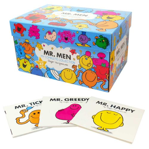 MR.MEN 【英語のえほん】Mr Men My Complete Collection  MM}>