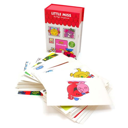 MR.MEN Little Miss 100 Postcards Box Set  MM}>