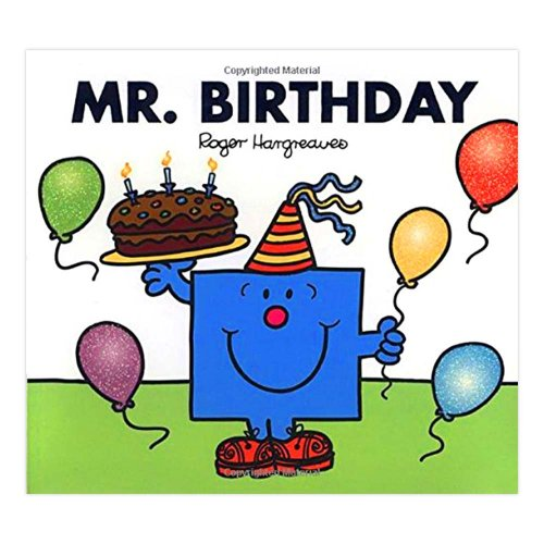 MR.MEN 【英語のえほん】Mr.Birthday  MM}>