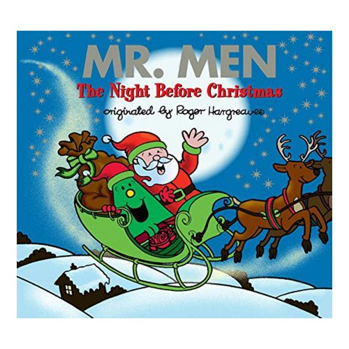 MR.MEN 【英語のえほん】Mr.Men the Night Before Christmas  MM}>