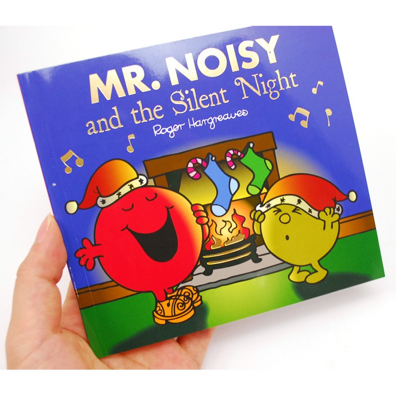 MR.MEN 【英語のえほん】Mr.Noisy and the Silent Night  MM